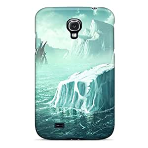 Pretty USmLEKy8440BWUhl Galaxy S4 Case Cover/ Iceberg Series High Quality Case