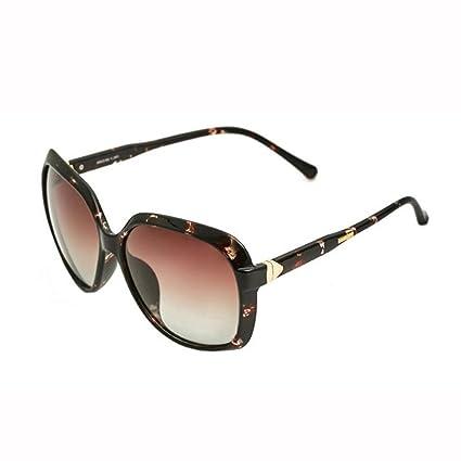 WX xin Moda Transparente Grande Caja Gafas De Sol Luz Polarizada Anti-UV Manejar Street