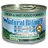 Natural Balance Limited Ingredient Diets Chicken & Sweet Potato Formula Canned Dog Food 6 oz. Case of 12 Review