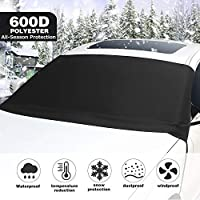 Kohree 600D Oxford Fabric Car Windshield Snow Ice Cover