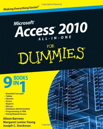 [PDF] Access 2010 All-in-One For Dummies Free Download | Publisher : For Dummies | Category : Computers & Internet | ISBN 10 : 0470532181 | ISBN 13 : 9780470532188