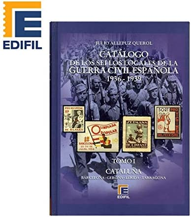 EDIFIL Catálogo Sellos Locales de Guerra Civil española (1936-1939). Julio Allepuz. 6 volumenes: Amazon.es: Juguetes y juegos