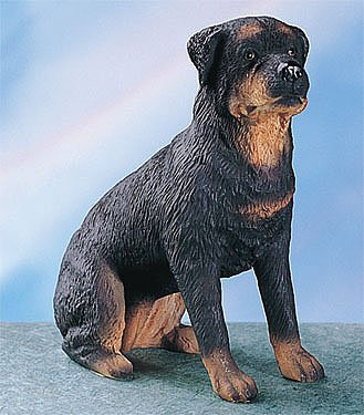 YTC Rottweiler Dog - Collectible Statue Figurine Figure Puppy Sculpture