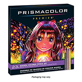 Prismacolor Premier Colored Pencils, Manga Colors, 23-Count - 1774800 (B003YDYO8E) | Amazon price tracker / tracking, Amazon price history charts, Amazon price watches, Amazon price drop alerts