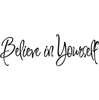 believe in yourself decal wall quote sayings stickers quotes vinyl wall decals words letters by