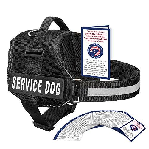 black service dog vest - 2