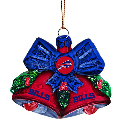 NFL Buffalo Bills Bells Ornament