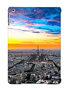 Graceyou Series Skin Case Cover Ikey Case For Ipad Air(paris Cityscape )
