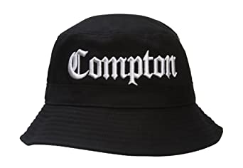 GT Compton Bucket Black Hat at Amazon Men s Clothing store  006b291f860