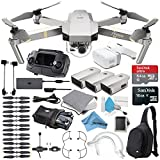 Platinum DJI Mavic Pro Quadcopter Drone + FPV Goggles Headset Bundle