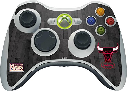 - Skinit Chicago Bulls Xbox 360 Wireless Controller Skin - NBA Skin - Ultra Thin, Lightweight Vinyl Decal Protection