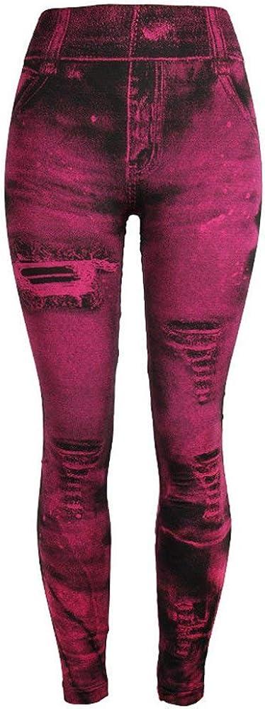 Trisee Pantalones de Yoga para Mujer, Pantalones Vaqueros de ...