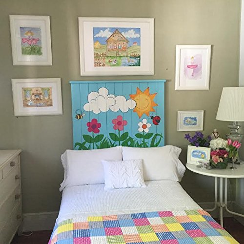 Cabecero infantil, cama niño, decoración infantil niño bebe, cama ...