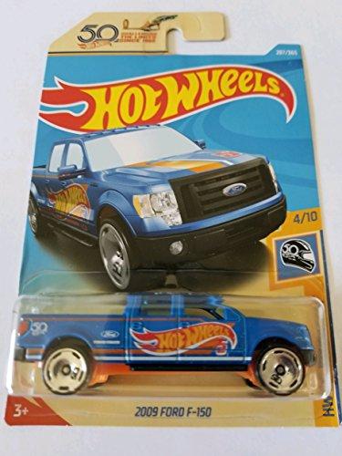 (Hot Wheels 2018 Hw 50th Race Team 4/10 - 2009 Ford F-150 )