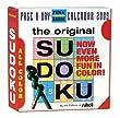 The Original Sudoku Page-A-Day Calendar 2009