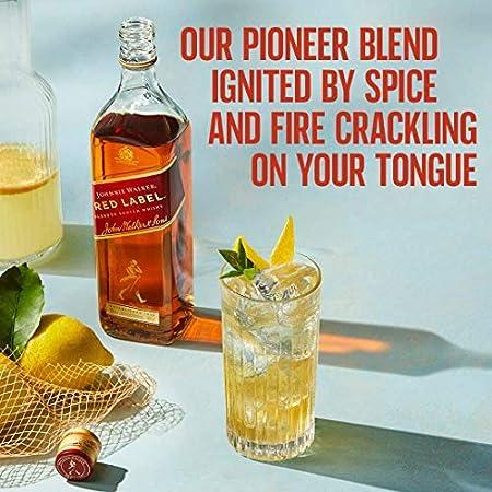 JOHNNIE WALKER whisky red label botella 70 cl