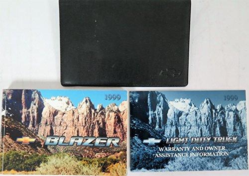 1999 Chevrolet Blazer Owners Manual