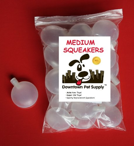 20 Replacement Squeakers, Medium,   by Downtown Pet Supply, My Pet Supplies