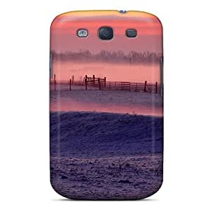 Forever Collectibles Misty Morning In Winter Hard Snap-on Galaxy S3 Case