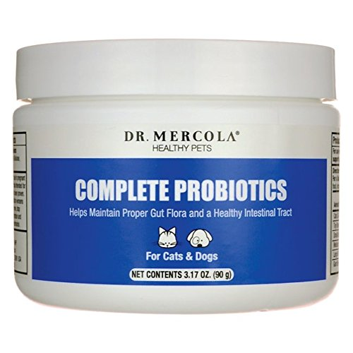 Dr. Mercola: Complete Probiotics For Pets (1 Bottle Powder Format)