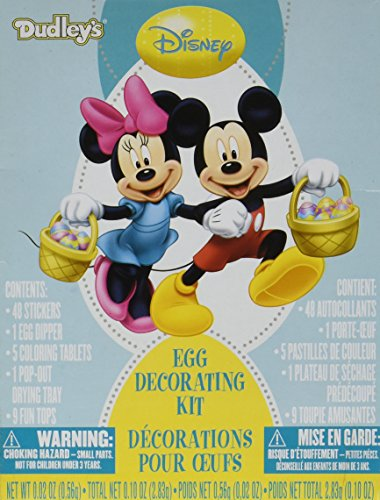 Disney Mickey and Minnie Mouse Egg Decorating Kit