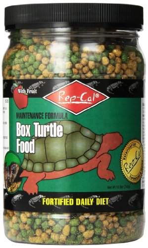 Rep-Cal Srp00808 Box Turtle Food, 12-Ounce