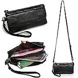 Itslife Women's Genuine Leather Shoulder Messenger Cross-body Small Bag