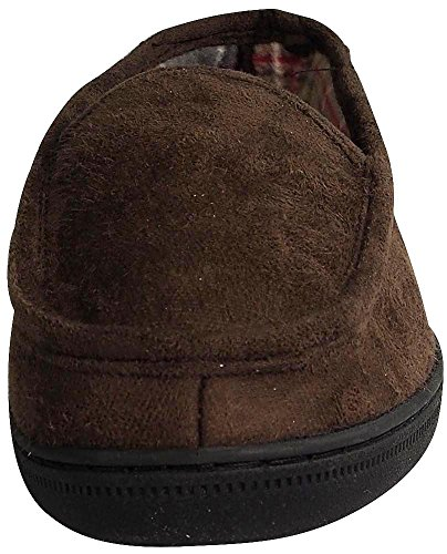 Perry Ellis Heren Twin-stretch Slippers Bruin Moc 2