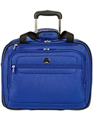 Delsey Luggage Fusion Wheeled Tote, Blue