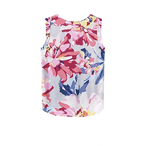 Top Alyse ladies Flattering Sleeveless Womens Shirt Printed Joules T EapfnZw8fq