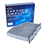vw cabin air filter - POTAUTO MAP 4002C Heavy Activated Carbon Car Cabin Air Filter Replacement compatible with AUDI, VOLKSWAGEN
