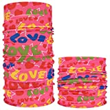 Face Masks Half Casual Balaclava Headwear Stretchable Bandanna Headbands Wind/Sun/UV Protection for Cycling,Motorcycling,Fishing,Hunting,Hiking,Yard Working,Outside,Out-Sports