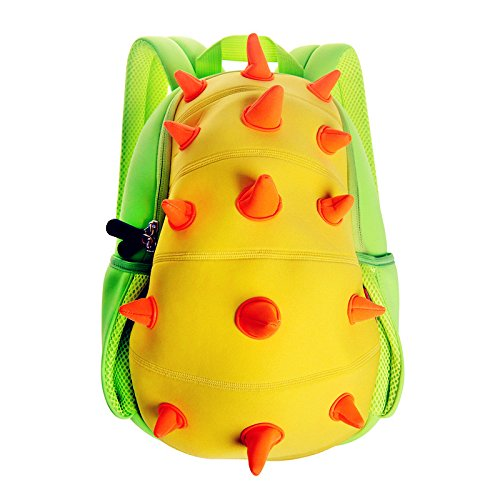 OFUN Cute 3D Cartoon Dinosaur Kids' Backpack, Toddler Backpack, Children School Backpack, Toy Bag For Kindergarten Pre school Boys Girls Unisex, Waterproof Bag, Gift For Baby Kiddos, Age 1-6
