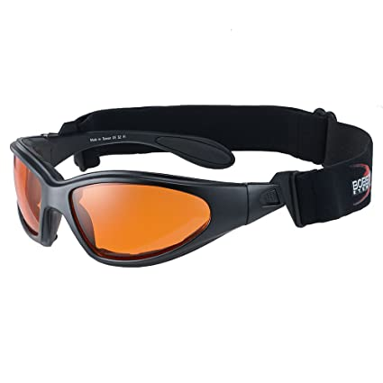 b66d578e9b Amazon.com  Bobster GXR Sunglass-Goggles - One size fits most Black ...