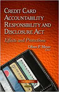 Credit card accountability responsibility and disclosure