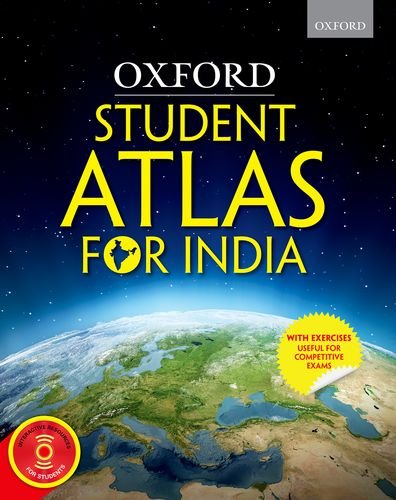 atlas book of maps india Oxford Student Atlas For India With Exercises Useful For atlas book of maps india
