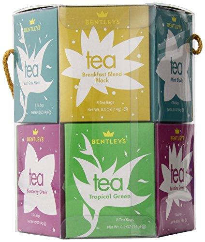 Boston Tea Signature Hexagon Tea Set, 96 - Bentley Green Tea Collection