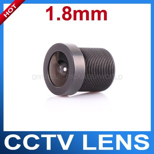 (Leegoal 1.8mm 170 Degree Wide Angle CCTV Lens 1/4