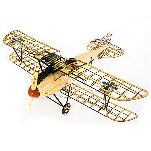 Goolsky Dancing Wings Hobby VS02 1/15 Wooden Static Airplane Model Display Replica 500mm Albatross Kit Craft Wood Furnishing Gift for Children and Adults ()