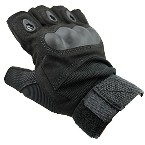 para Tactical Hunting Accessorystation Airsoft ciclismo Fashion Green Mitts Tama Riding o Negro militar Sport Outdoor de l Guantes M Ancho qYCYfI