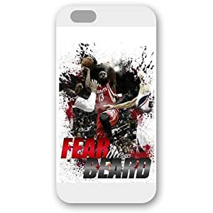 (TCustomized White Frosted Case For Samsung Note 3 Cover Case, NBA Superstar Houston Rockets James Harden Case For Samsung Note 3 Cover Case, Only Fit Case For Samsung Note 3 Cover Case