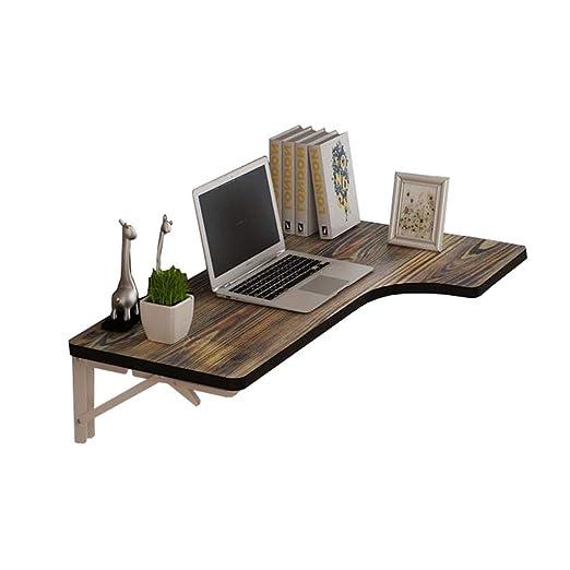 TYUIO Mesa de montaje en pared, escritorio plegable multifunción ...