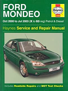 ford mondeo repair manual haynes manual service manual workshop rh amazon co uk Car Owners Manual Cartoon Manual