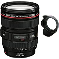 Canon 24-105mm L Lens (WHITE BOX) + Lens Hard Tulip