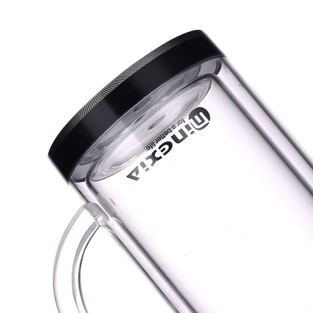 PYIP Botella de aguaDoble Vidrio con con Vidrio Filtro Taza Oficina portátil Copa Copa de Gran Capacidad de Negocio be4f90
