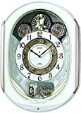 SEIKO CLOCK ( Seiko clock ) wall clock wave Symphony radio clock twin -Pas contraption RE565H