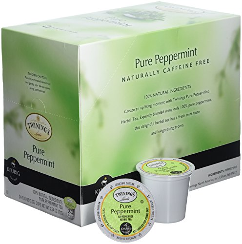 Twinings Pure Peppermint Tea 48-Count K-Cups for Keurig Brewers