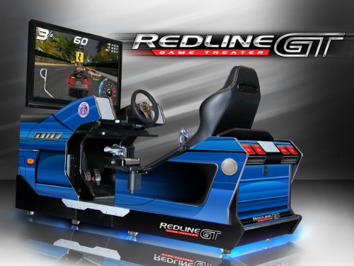 Price comparison product image Chicago Gaming Company Redline GT Full Immersion Racing Simulator and Game Theater