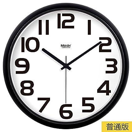 TLIANLU Reloj de Pared Sala-Cocina Creativa De Moda Oficina Reloj de Pared no silenciosa