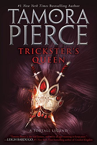 Trickster's Queen (Daughter of the Lioness Book 2) cover